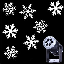 Load image into Gallery viewer, Christmas Snowflake Laser Light