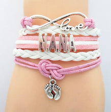 Load image into Gallery viewer, Infinity Love Nana Bracelet