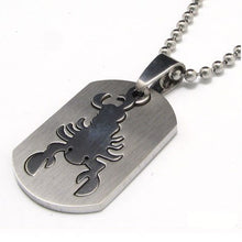 Load image into Gallery viewer, Scorpio Pendant Necklace