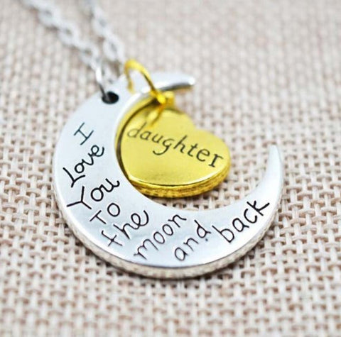 ★ FREE ★ I Love You to the Moon and Back Necklace