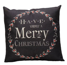 Load image into Gallery viewer, Christmas Decoration Pillow Cover