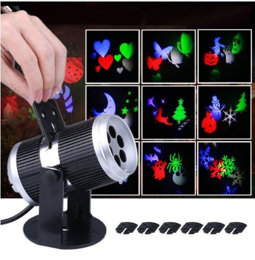 Christmas Snowflake Laser Light