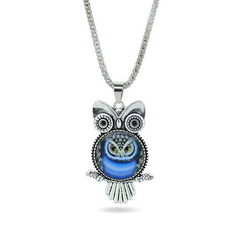 ★ FREE ★ Vintage Owl Pendant Necklace