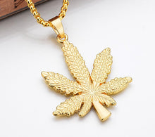Load image into Gallery viewer, Leaf Charm Necklace