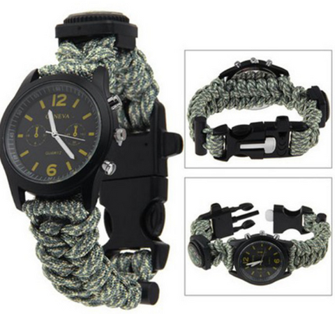 Survival Paracord Watch