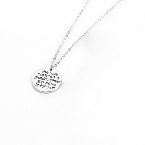 ★ FREE ★ Granddaughter and Nana Necklace
