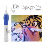 Magic Embroidery Pen Punch Tool Kit
