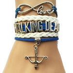 Infinity Love Walking Dead Bracelet