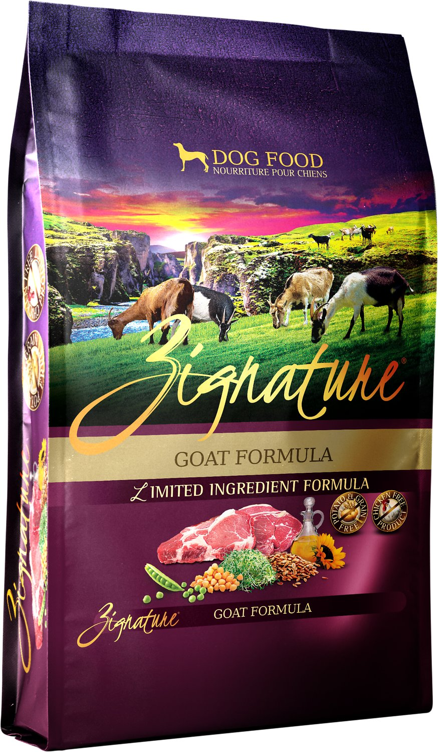 Zignature LID Goat Dog Food