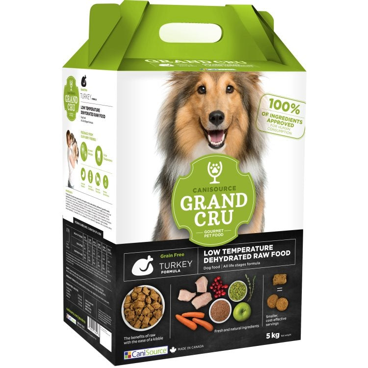 Canisource Dog Grand Cru Dehydrated Turkey