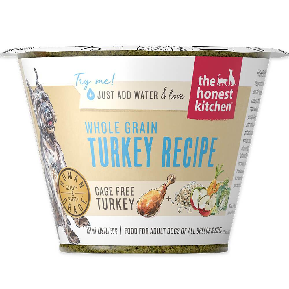 The Honest Kitchen Single Serve Whole Grain Turkey (50g) (Best before date : March 12th 2021)