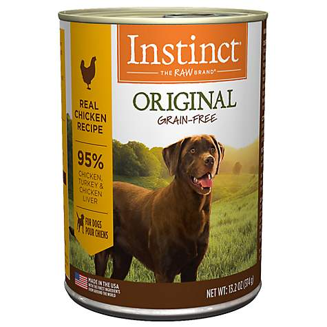 Instinct Original Chicken GF Canned Dog Food (374g/13.2oz)