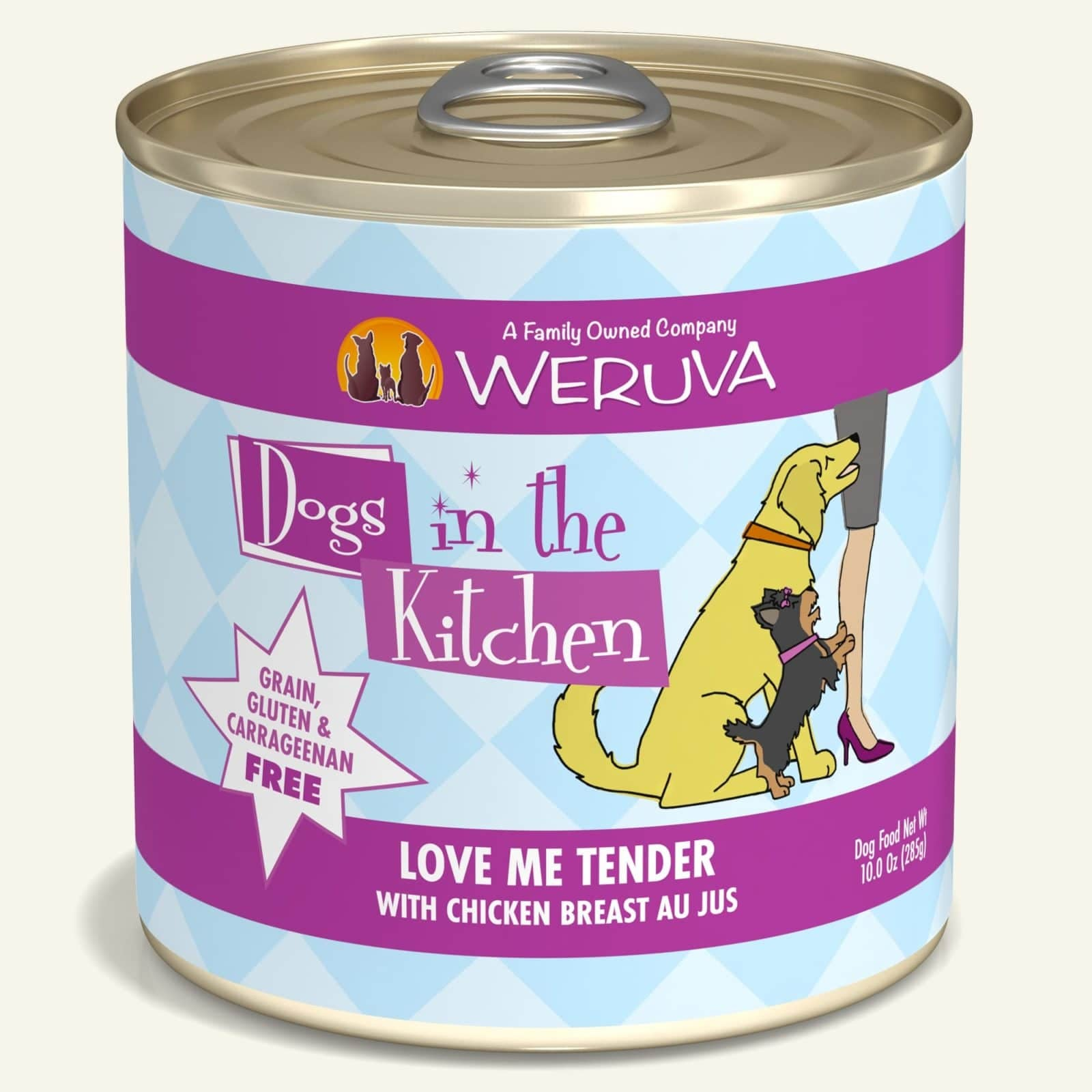 Weruva Dog can Dogs in the Kitchen Love Me tender (10oz)