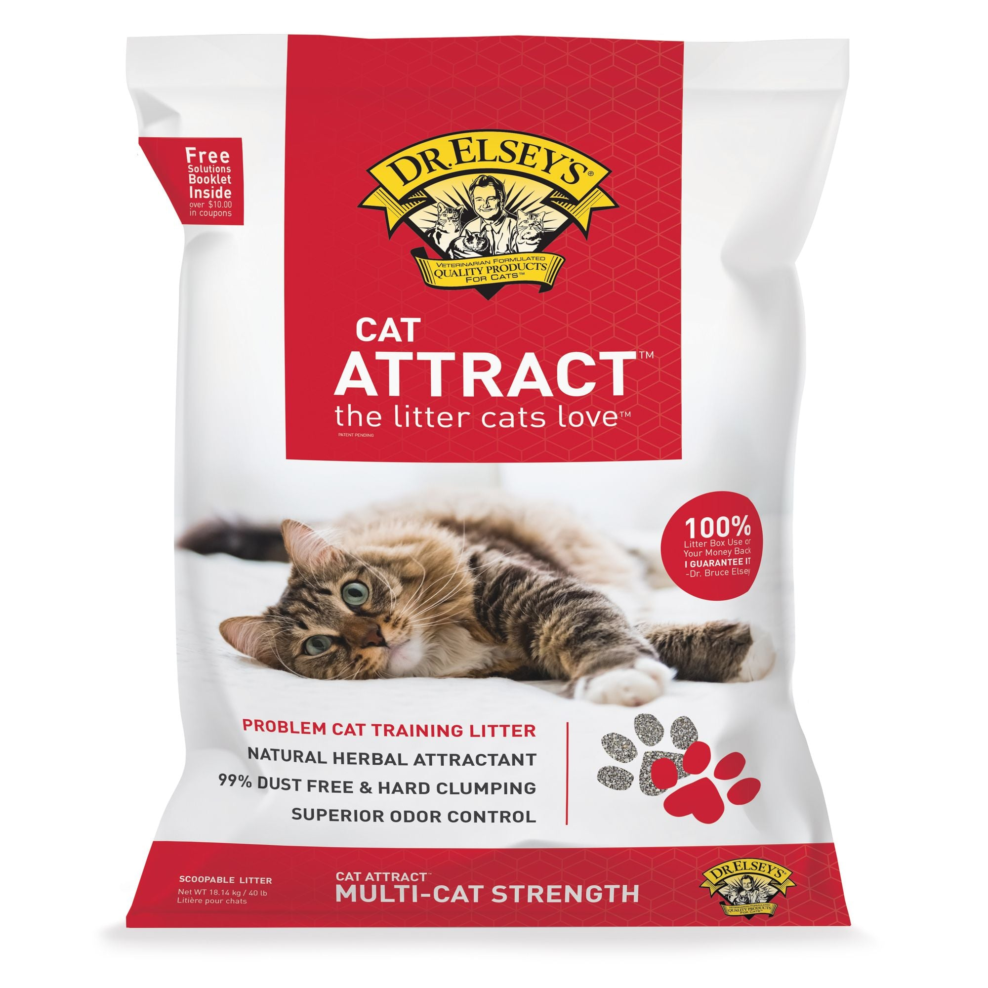 Dr. Elsey s Cat Attract Litter (18.14kg/40lb)