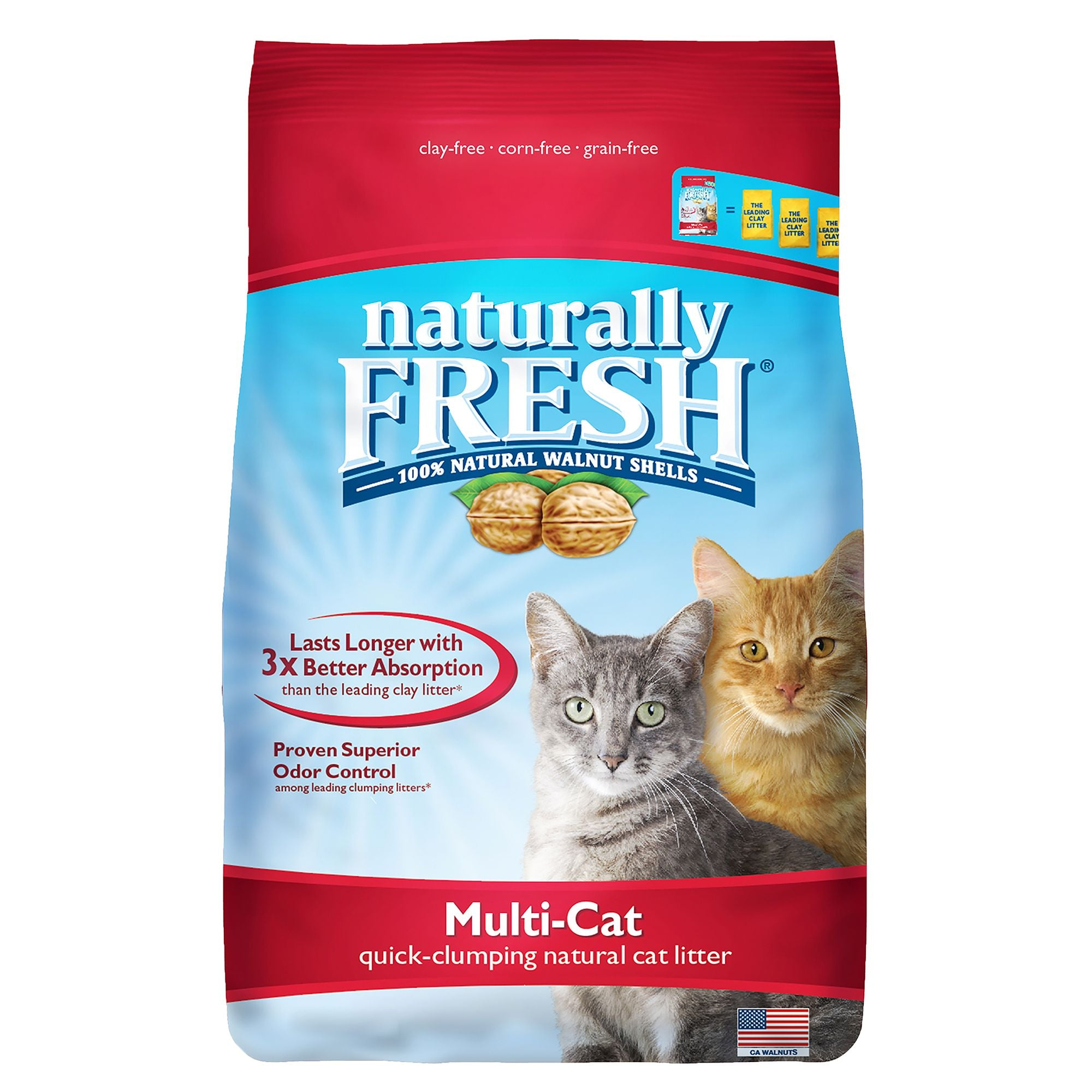 Blue Buffalo Naturally Fresh Multi-Cat Litter (11.7kg/26lb)