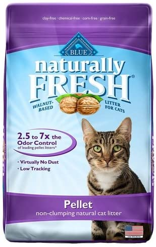 Blue Buffalo Naturally Fresh Non Clumping Pellet Cat Litter (6.3kg/14lb)