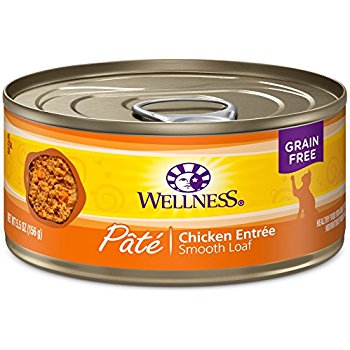 Wellness Chicken Entree Smooth Loaf Pâté GF Canned Cat Food
