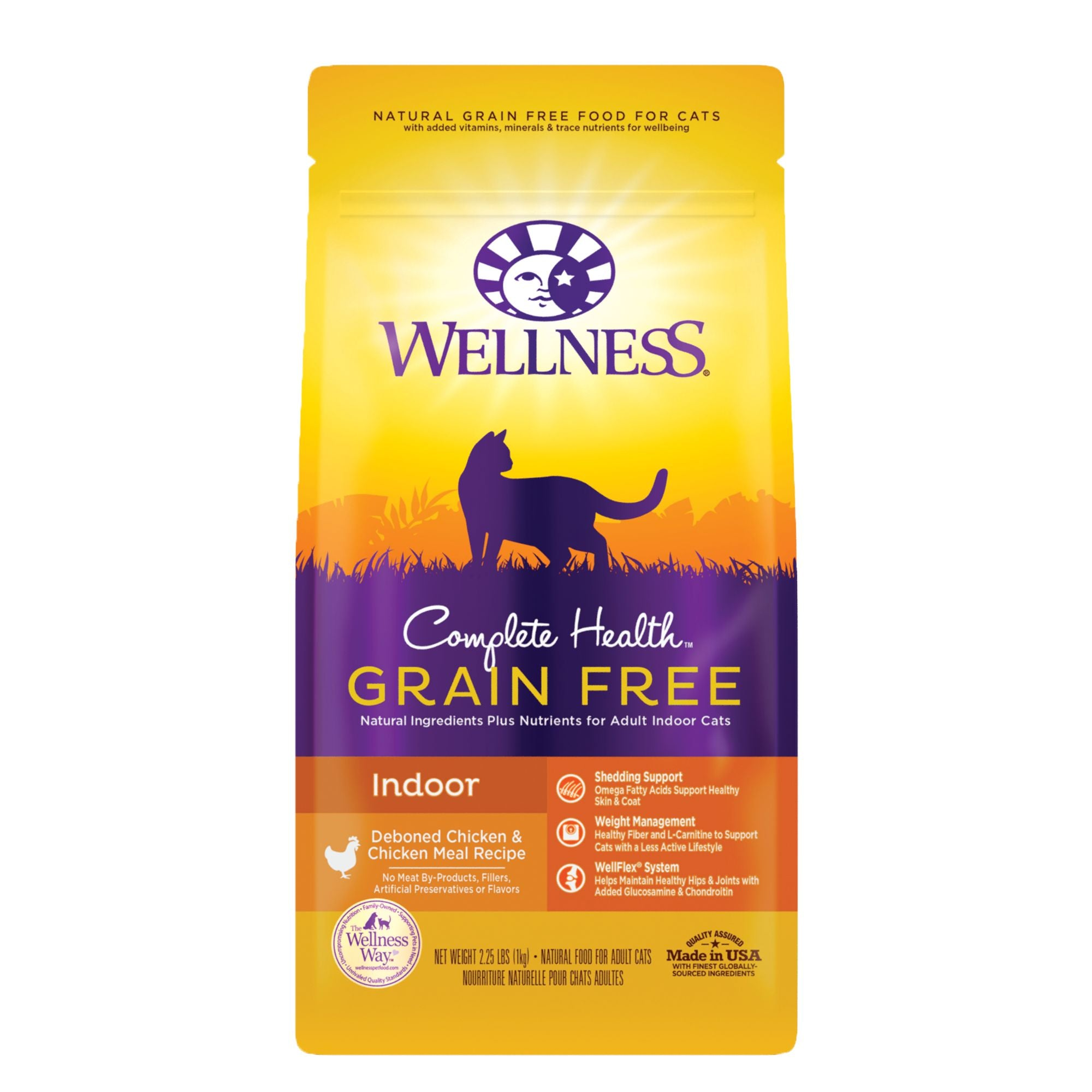 Wellness Complete Health Indoor Grain Free Chicken Cat Food