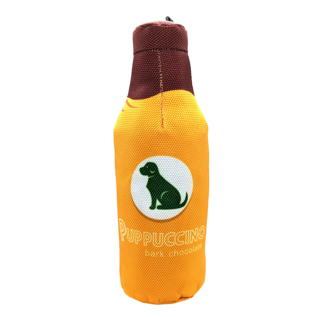 Ethical Pet Puppucino Fun Drink Squeaky Plush Dog Toy