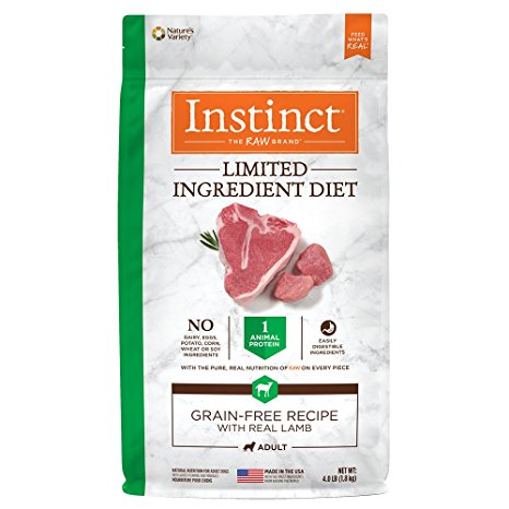 Instinct L.I.D. Lamb GF Dog Food