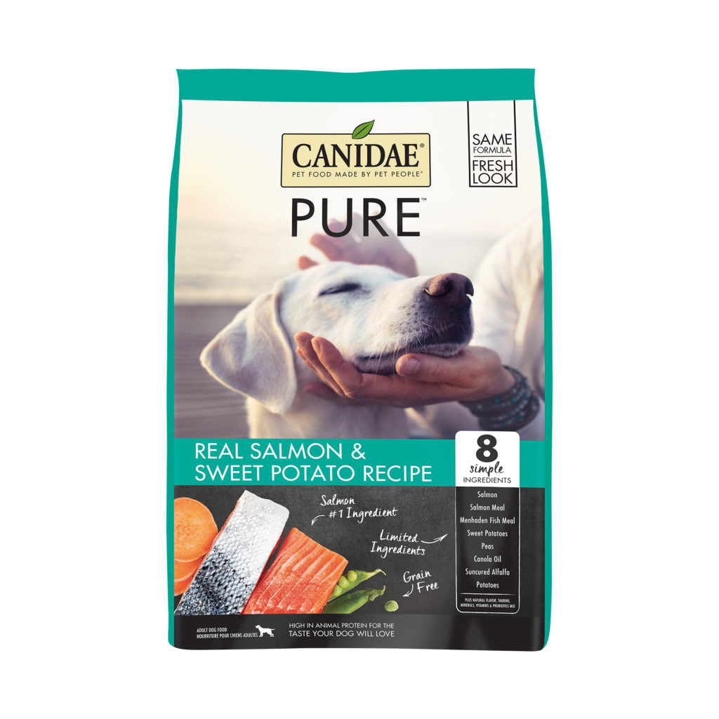 Canidae Pure Salmon & Sweet Potato GF Dog Food (10.8kg/24lbs)