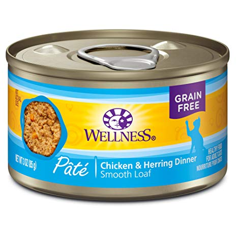 Wellness GF Chicken & Herring Canned Cat Food