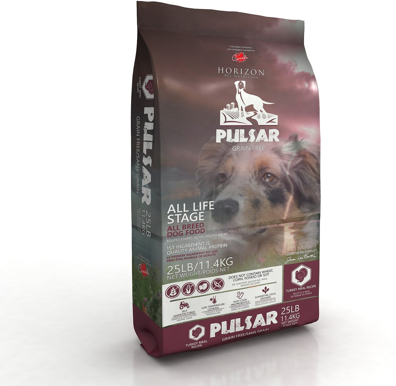 Horizon Pulsar Pulses & Turkey Dog Food