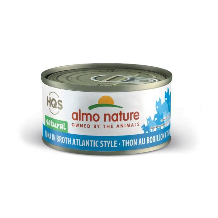 Almo Nature Tuna in Broth Atlantic Style Canned Cat Food (70g/2.5oz)