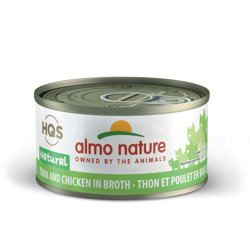 Almo Nature Tuna & Chicken in Broth Canned Cat Food (70g/2.5oz)