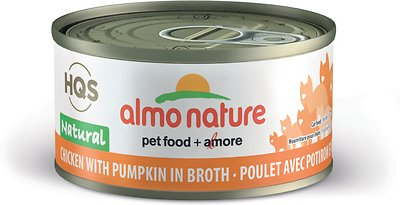 Almo Nature Chicken with Pumpkin in Broth Canned Cat Food (70g/2.5oz)