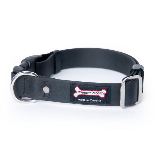 Smoochy Poochy Polyvinyl Buckle Clasp Collar - Various Colours