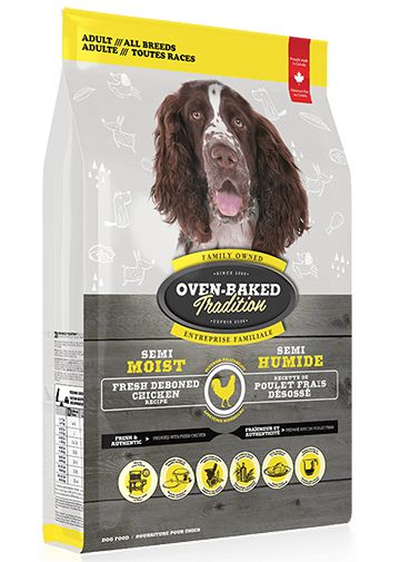 Oven Baked Tradition Semi Moist Chicken Adult Dog Food (9.07kg/20lb)
