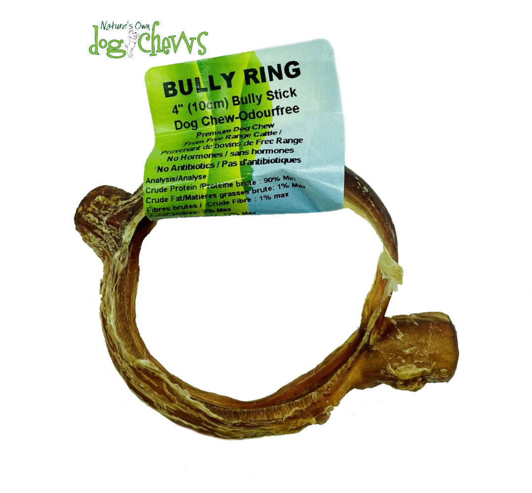 Nature's Own Odourfree Bully Stick Ring (4″/10cm)