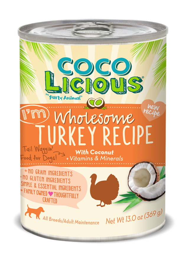 Cocolicious Wholesome Turkey Canned Dog Food (13oz)