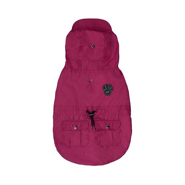 Canada Pooch West Coastal Coat - Raspberry