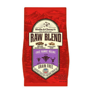 Stella & Chewy's Free Range Raw Blend Dog Food Kibble