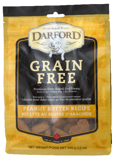 Darford GF Peanut Butter Treat Pouch (340g)