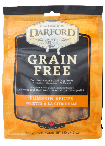 Darford GF Pumpkin Treat Pouch (340g)