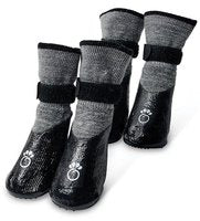 GF PET All Terrain Dog Booties - Charcoal