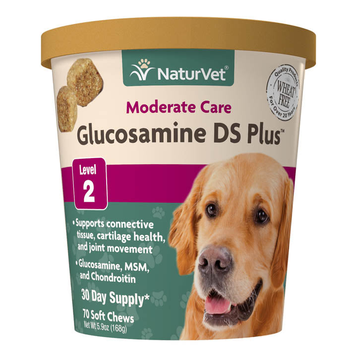 NaturVet Dog Glucosamine DS with MSM Soft Chews (70ct)