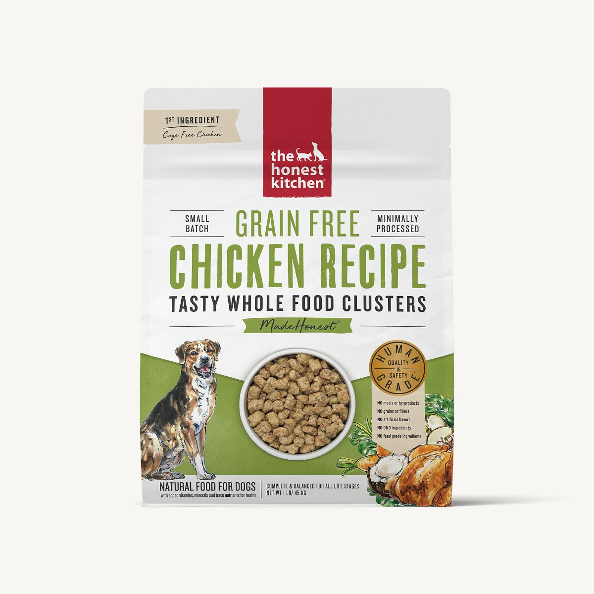 The Honest Kitchen Whole Food Clusters - GF Chicken