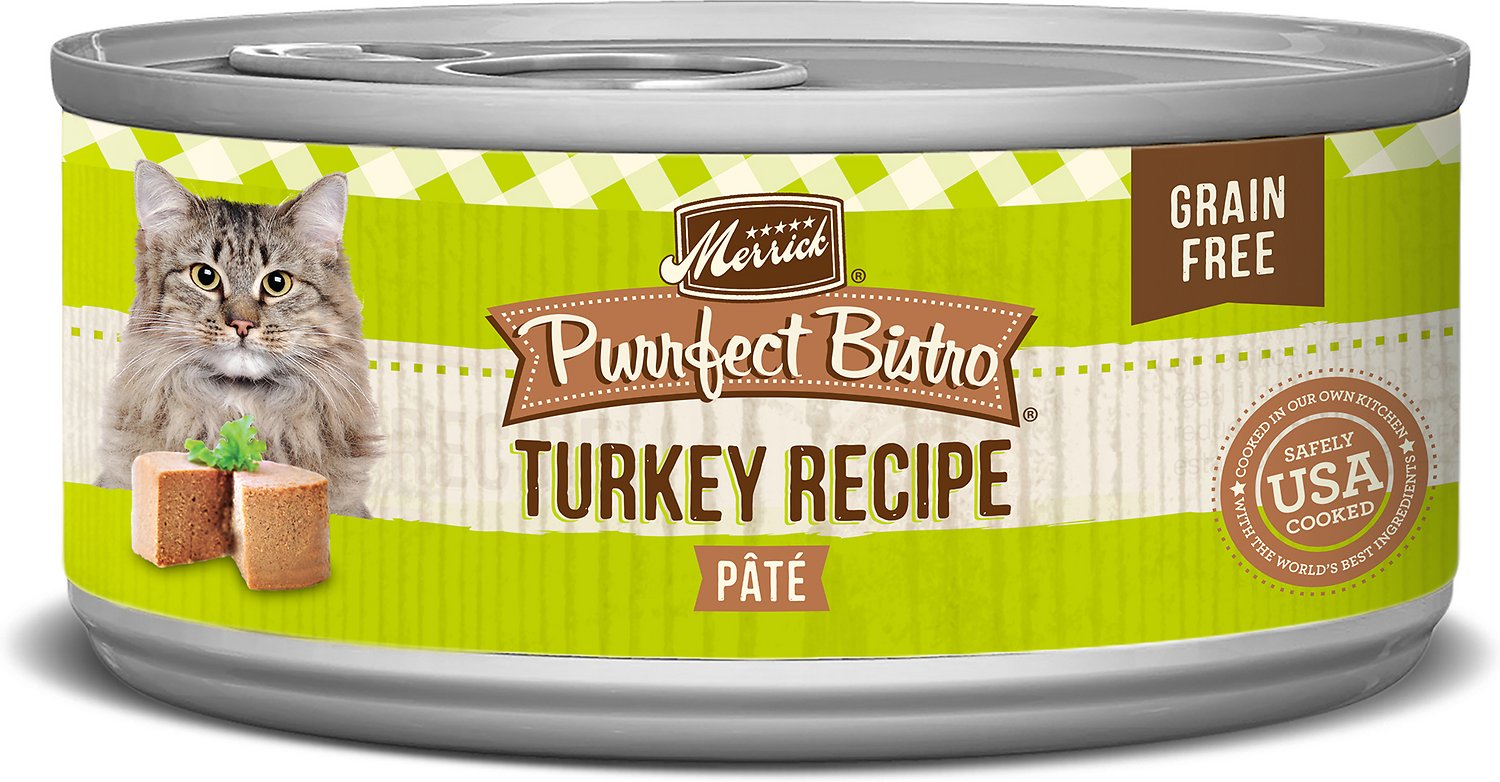 Merrick Purrfect Bistro Turkey Pâté GF Canned Cat Food (3oz)