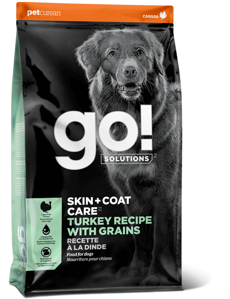 Go! Solutions Skin & Coat Turkey Dog Food (11.3kg/25lb)