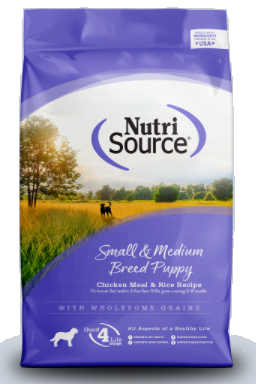 Nutri Source Grain Free Small/Medium Breed Puppy Dog Food (2.2kg/5lb)