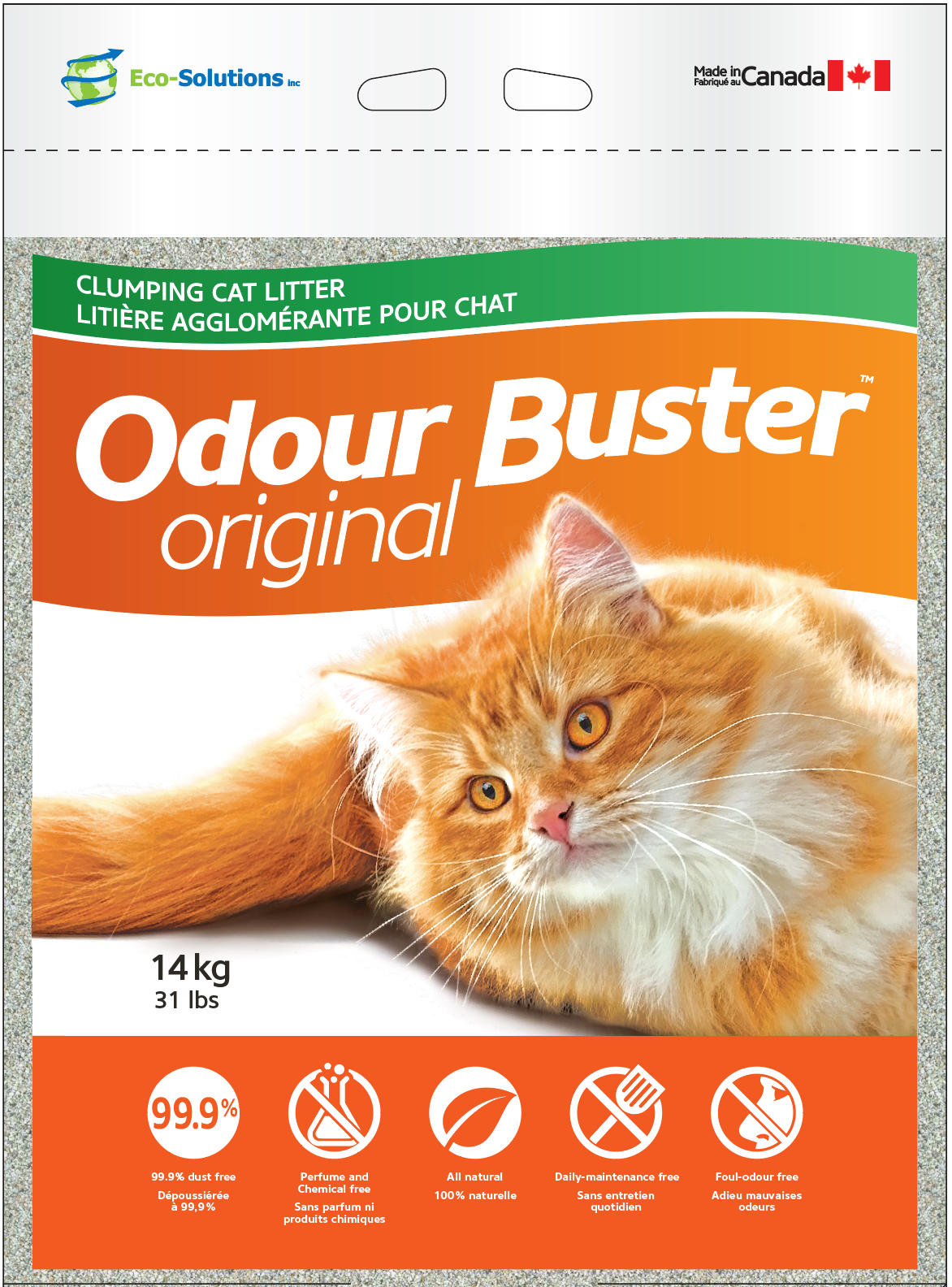 Odour Buster Once a Week Clumping Cat Litter