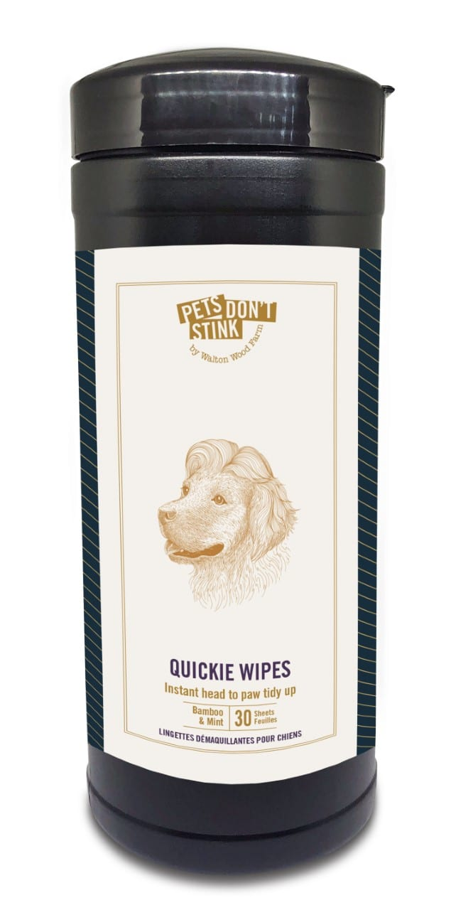 Walton Wood Farm - Quickie Clean-up Dog Wipes (30 sheets)