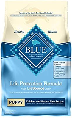 Blue Buffalo Life Protection Chicken & Brown Rice Puppy Dog Food