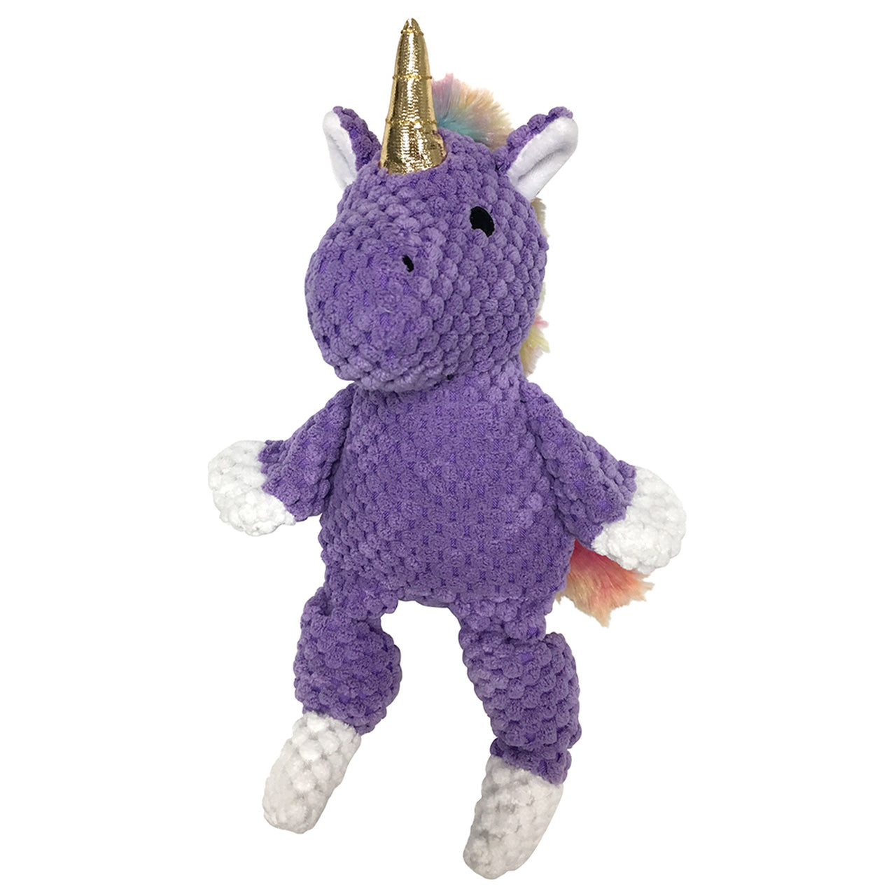 FouFou Rainbow Bright Knotted Toy Unicorn - Purple