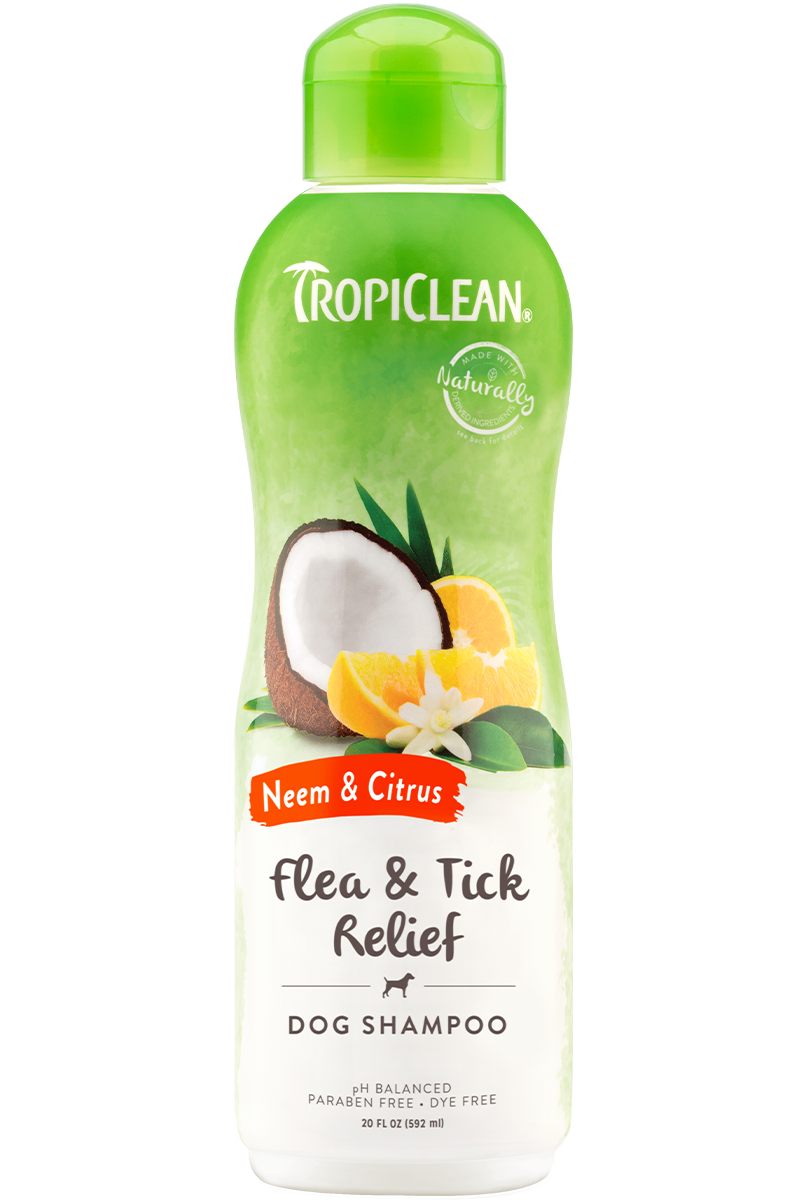 Tropiclean Itch Relief Neem and Citrus Shampoo (20oz)