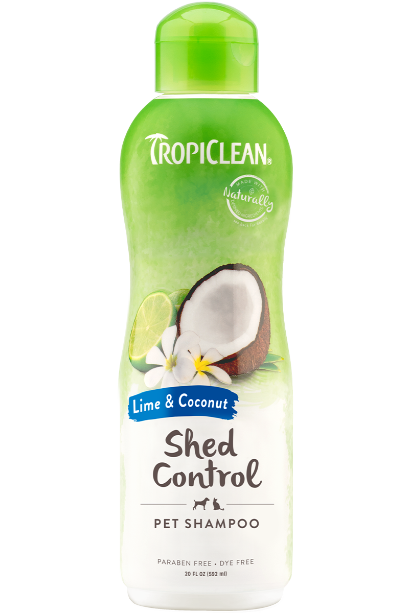 Tropiclean Shed Control Lime and Coconut Shampoo (20oz)
